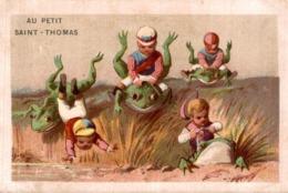 Chromos  AU PETIT SAINT THOMAS - Trade Cards