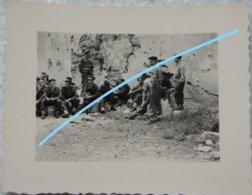 Photo ABL FORT DE MARCHOVELETTE Namur Exercice Démolition Génie 1951 Militaria Armée Guerre Leger - Oorlog, Militair