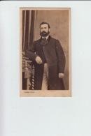 PHOTOGRAPHIE ORIGINALE - Portrait Homme Costume D'Epoque - Photographe Pierre PETIT Nice - Personnes Anonymes