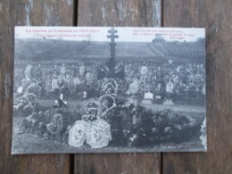 CPA 54 GUERRE EN LORRAINE 1914-17 CIMETIERE MILITAIRE DE LUNEVILLE - Luneville