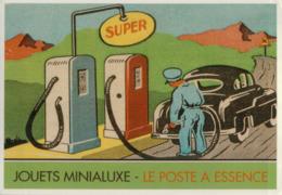 1540   PUB FRANCE  NON   ECRIITE VERSO - Advertising