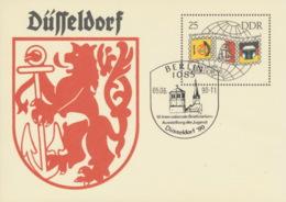 DDR Ganzsache P106 O Sonderstempel - [6] República Democrática