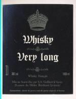 Etiquette De Whisky   -  Very Long  -  Galibert Et Varon  Bordeaux  (33) - Whisky