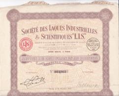 Alb 4) Actions & Titres > Société Des Laques Industrielles & Scientifiques LIS1927N=13 - Andere