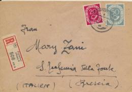 BRD 130,134 Auf Auslands-R-Brief - [7] Federal Republic