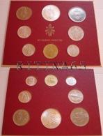 VATICANO !!! SERIE DIVISIONALE 1974 FDC PAOLO VI° ANNO XII° !!! - Vaticano