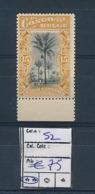 BELGIAN CONGO 1909 ISSUE COB 52 MNH - 1894-1923 Mols: Neufs