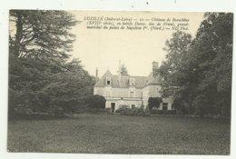 Cpa INDRE ET LOIRE   LUZILLE (Indre.et.Loire) .10.  Chateau De Beauchene (XVIIIe Siècle), Ou Habita Duroc,duc De Frioul, - France