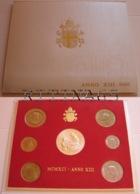 VATICANO !!! SERIE DIVISIONALE 1991 FDC GIOVANNI PAOLO II° ANNO XIII° !!! - Vaticano