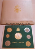VATICANO !!! SERIE DIVISIONALE 1992 FDC GIOVANNI PAOLO II° ANNO XIV° !!! - Vaticano