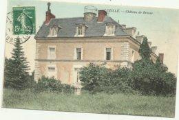 Cpa INDRE ET LOIRE   3.  LUZILLE .  Chateau De Brosse - France