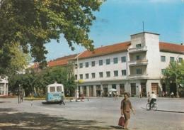 Slavonski Brod - Street Scene , Bus 1967 - Kroatien