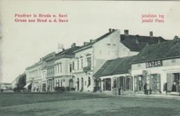 Slavonski Brod - Jelacic Platz - Croatia
