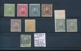 BELGIAN CONGO 1887 ISSUE SELECTION USED OR MINT - 1884-1894 Vorläufer & Leopold II.