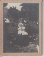 PHOTOGRAPHIE ORIGINALE - Portrait De Femme Et Son Bébé - Anonymous Persons