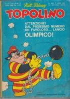 DISNEY - ALBUM TOPOLINO N°855 - 16 Aprile  1972 - GIOCHI INTONSI NON SVOLTI - BOLLINI PUNTI - INTERNO OTTIMO - Disney