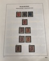 Voorafgestempelde Verzameling Postfris - Quasi Volledig - Precancels