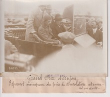 GRAND PRIX D'ANJOU A ANGERS ESPANET VAINQUEUR DU PRIX CONSOLATION  18*13CM Maurice-Louis BRANGER PARÍS (1874-1950) - Aviation