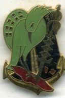 Insigne 42é Bataillo, De Commandement Et Service, CAGOU___drago - Army