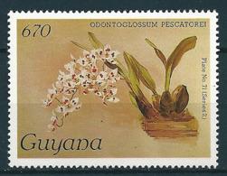 Guyana  1985-89  Orchideen, Orchids  Mi-Nr. 2243 Postfrisch / MNH - Guyana (1966-...)