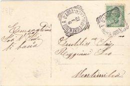 1912 Cartolina Da Firenzuola Per Mentimila ?  - Franc - 1900-44 Vittorio Emanuele III