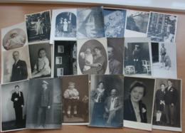 20 Private Alte Fotokarten Kleinformat Porträt Anonyme Personen Kinder Baby … Siehe Fotos - 5 - 99 Karten