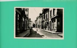 Ligueil - Indre Et Loire - Rue A.Briand - Photo-carte - - Loches
