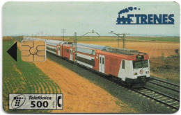 Spain - Telefónica - Trains - Tren Serie 450 Cercania - P-265 - 05.1997, 5.000ex, Used - Espagne
