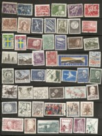 Suede Sweden Collection With Many Topical Stamps - Suecia