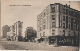 CPA 75 PARIS XV Rue De Dantzig Et Passage  Quartier Abattoirs De Vaugirard - Arrondissement: 15