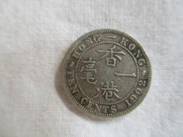 Hong Kong: 10 Cents 1902 - Hong Kong