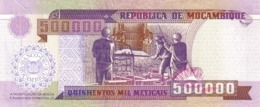 Mozambique  P.142 500000 Meticais  2003  Unc - Mozambique