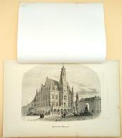 Gravure Sur Bois 'Hôtel De Ville à Audenaerde', 1844/ Wood Engraving 'City Hall Of Oudenaerde' (B), Oudenaarde - Estampes & Gravures