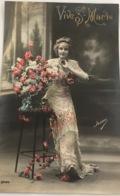(1000) Vive Ste. Marie - Mooi Lang Kleed - 1913 - Fête Des Mères