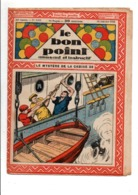 LE BON POINT AMUSANT N°1103  18/1/1934  LE MYSTERE DE LA CABINE 33 - Magazines Et Périodiques