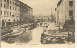 L60A527 - En 1900 -  Reproduction - Marseille - Le Quai Du Canal - Marsiglia
