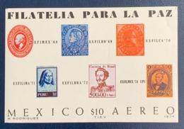 Mexico, 10 P. 1974, Sc # C434, Mi # Block 21, MNH. - Mexico