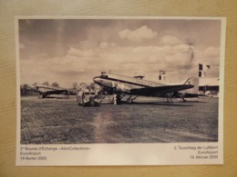 AEROPORT / AIRPORT / FLUGHAFEN   BALE MULHOUSE  DC 3 SABENA ET AIR FRANCE - Aerodromi