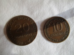 Mozambique: 10 & 20 Centavos 1936 - Mosambik