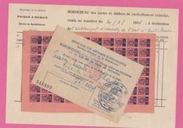 BELGIQUE:3 DOCUMENTS DIVERS. - Historische Dokumente
