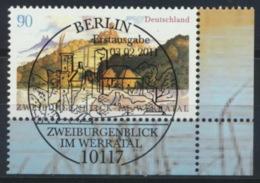 BRD 2847 Eckrand Rechts Unten O Sonderstempel Berlin - [7] Federal Republic