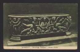 16788 Agrigento - Sarcofago Romano - Museo Civico F - Agrigento