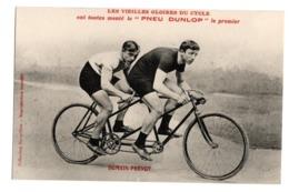 Cyclisme Les Vieilles Gloires Du Cycle Pneu Dunlop DOMAIN PREVOT - Cyclisme
