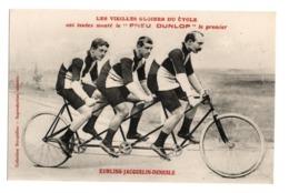 Cyclisme Les Vieilles Gloires Du Cycle Pneu Dunlop KUHLING JACQUELIN DENESLE - Cyclisme