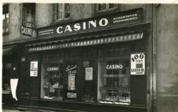 TARARE - Carte PHoto Du Commerce Casino Succursale 478 Au 17 Rue D Ela Gare En 1931 - Tarare