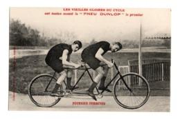 Cyclisme Les Vieilles Gloires Du Cycle Pneu Dunlop FOURNIER VERHEYEN - Cyclisme