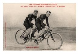Cyclisme Les Vieilles Gloires Du Cycle Pneu Dunlop EDWARDS GREEN - Cyclisme