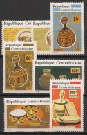 Centrafricaine - 1982 - N°Yv. 524 à 530 - Artisanat - Neuf Luxe ** / MNH / Postfrisch - Zentralafrik. Republik