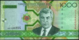 TURKMENISTAN - 1.000 Manat 2005 {Türkmenistanyň Merkezi Banky} UNC P.20 - Turkmenistan