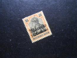 D.R.Mi 38 - 30C Auf 25Pf*MLH - Deutsche Auslandspostämter ( MAROKKO ) 1911 - Mi 25,00 € - Offices: Morocco